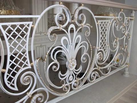 Кованые перила для лестниц Воронеж