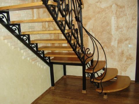 Кованые изделия для лестниц