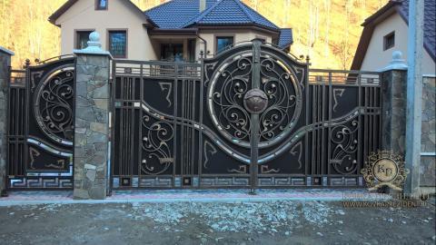 Кованые ворота заборы цены