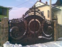 Купить кованые ворота цена
