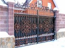 Художественная ковка эксклюзив ворота