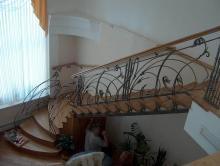 Кованые лестницы в частном доме