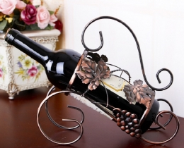 Кованые винницы, подставки под вино №5