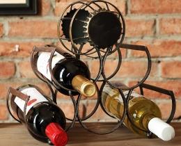 Кованые винницы, подставки под вино №3