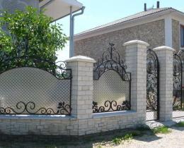 Кованые заборы в Воронеже №35