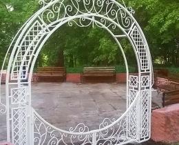 Кованые арки в Воронеже №8