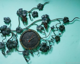Кованые часы в Воронеже №73