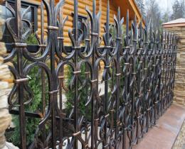 Кованые заборы в Воронеже №26
