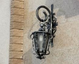 Кованые люстры, фонари, светильники, подсвечники №16
