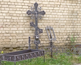 Кованые ритуальные изделия в Воронеже №51
