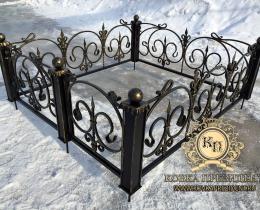 Кованые ограды в Воронеже №6