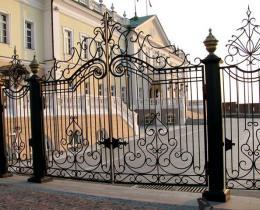 Кованые ворота в Воронеже №50