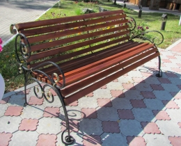 Кованые скамейки в Воронеже №132