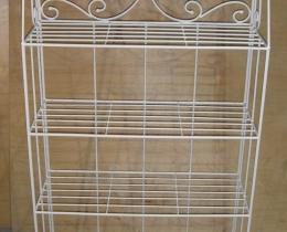 Кованые этажерки, стеллажи, консоли №145