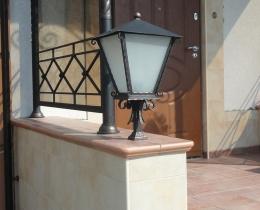Кованые люстры, фонари, светильники, подсвечники №71