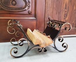 Кованые каминные наборы, дровницы, решетки №109