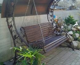 Кованые качели в Воронеже №96