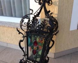 Кованые люстры, фонари, светильники, подсвечники №72