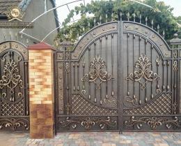 Кованые ворота в Воронеже №191