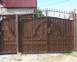 Кованые калитки в Воронеже №128