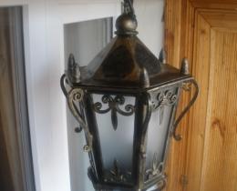Кованые люстры, фонари, светильники, подсвечники №73