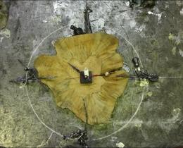 Кованые часы в Воронеже №78