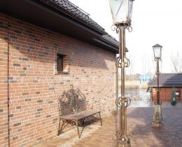 Кованые люстры, фонари, светильники, подсвечники №74