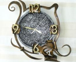 Кованые часы в Воронеже №44