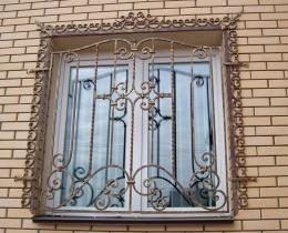 Кованые оконные решетки в Воронеже №70
