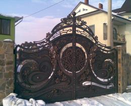 Кованые ворота в Воронеже №60