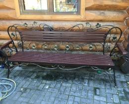 Кованые скамейки в Воронеже №138