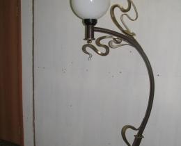 Кованые люстры, фонари, светильники, подсвечники №76
