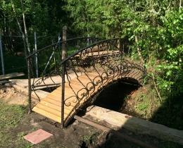 Кованый мостики в Воронеже №98