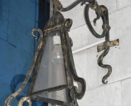 Кованые люстры, фонари, светильники, подсвечники №77