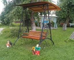Кованые качели в Воронеже №102