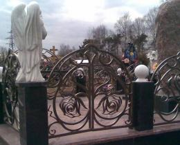 Кованые ритуальные изделия в Воронеже №9