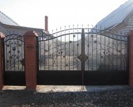 Кованые калитки в Воронеже №143