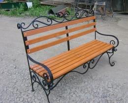 Кованые скамейки в Воронеже №141