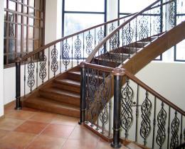 Кованые лестницы в Воронеже №5
