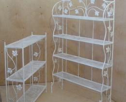 Кованые этажерки, стеллажи, консоли №150
