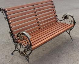 Кованые скамейки в Воронеже №142
