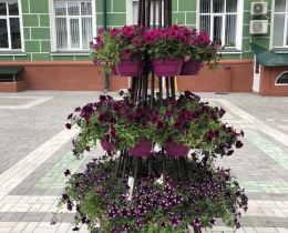 Кованые цветочницы в Воронеже №89