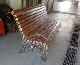Кованые скамейки в Воронеже №144