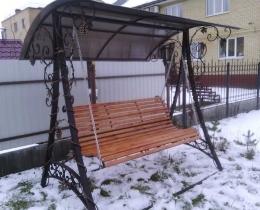 Кованые качели в Воронеже №114