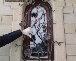 Кованые оконные решетки в Воронеже №35
