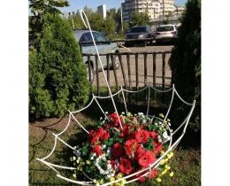Кованые цветочницы в Воронеже №92