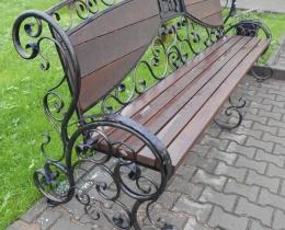 Кованые скамейки в Воронеже №146