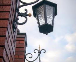 Кованые люстры, фонари, светильники, подсвечники №83