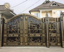 Кованые ворота в Воронеже №195