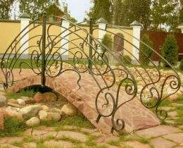 Кованый мостики в Воронеже №111